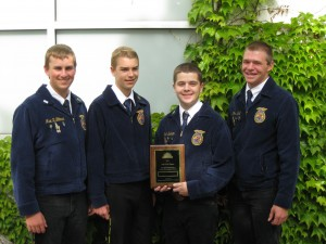2011 Kuna Ag Mechanics Team